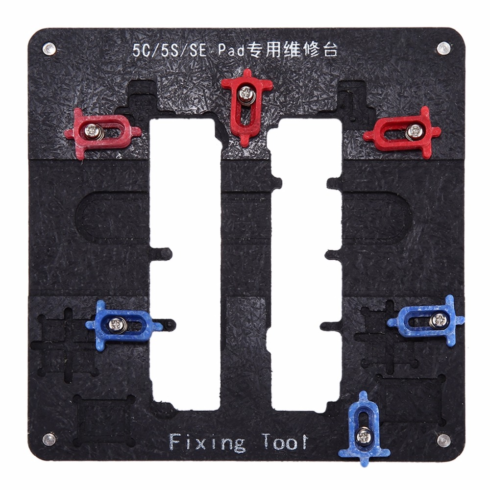 Anti-static High Precision High-temperature Resistant Motherboard Repairing Fixing Holder for iPhone 5c & 5s & SEAnti-static High Precision High-temperature Resistant Motherboard Repairing Fixing Holder for iPhone 5c & 5s & SE