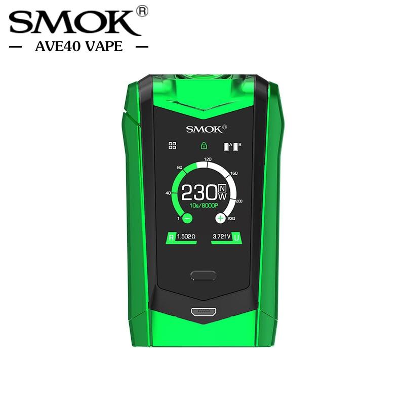 Pré-vente Électronique Cigarettes Mods Smok ESPÈCES Mod 230 w Double 18650 Batterie TC Boîte Mod 510 fil Vaporisateur VS Vaporesso Mod - 6