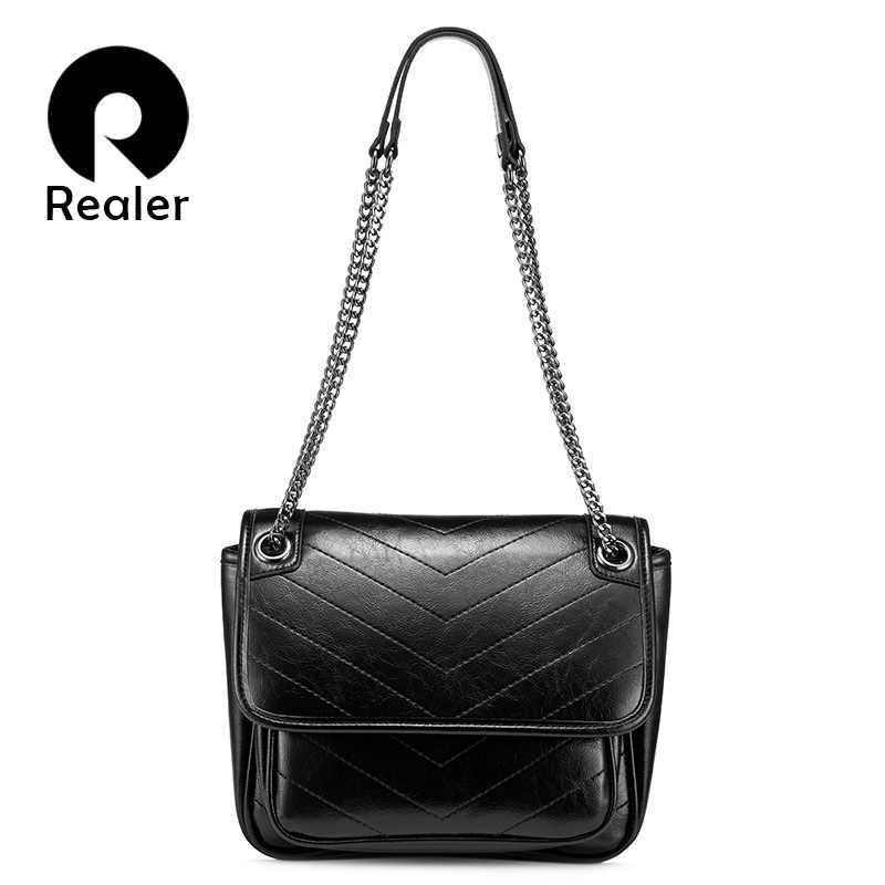 MAIS REAL saco de ombro das mulheres PU senhoras de couro crossbody saco do mensageiro da cadeia de moda bolsas com diamante treliça de luxo feminino