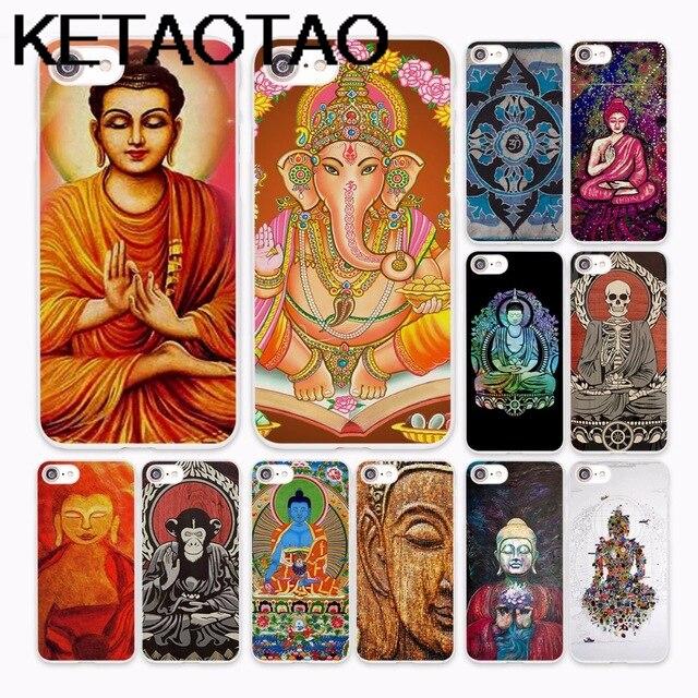 KETAOTAO Lord Krishna Hindu Buddha Phone Cases for iPhone 4S 5C 5S 6S 7 8 Plus