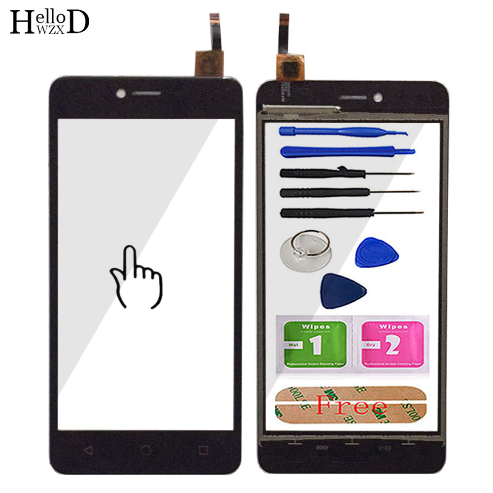 Mobile Touch Screen TouchScreen For BQ 5058 BQ5058 BQS5058 Touch Screen Front Glass Digitizer Panel Sensor Tools Adhesive