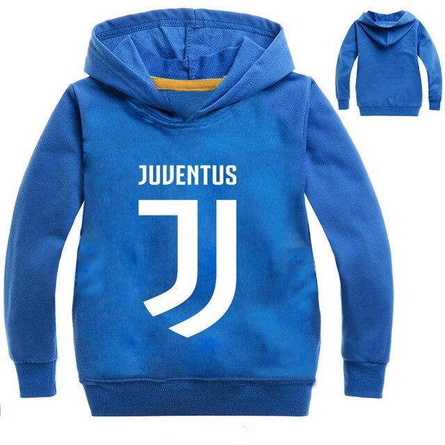 ca1f196b6e8 T shirt Juventus kids long sleeve top tee T shirt Juventus hoodie  sweatshirts for children clothing coat