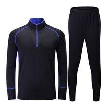 Hombres niños Survetement Jersey de fútbol deporte Kit de fútbol conjunto  camisetas pantalones de chándal de 8a4dd9f35403f
