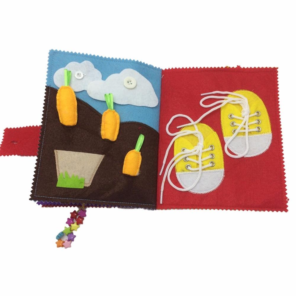 Նոր փափուկ մանկական հագուստի գրքեր - Խաղալիքներ նորածինների համար - Լուսանկար 2