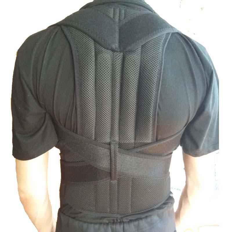 Orthopedic Back Support Belt Back Sports Equipment Shoulder Protector Weightlifting Belt For Women Men