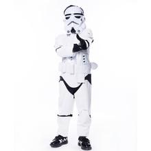 Новый ребенок мальчик Делюкс Star Wars The Force Awakens штурмовики Косплэй нарядное платье детей, карнавал, Хэллоуин Детский костюм для вечеринок