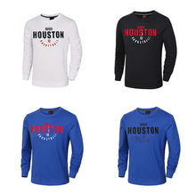 Men Basketball Jerseys 13 James Harden Print Jersey long sleeved Cotton  Sweater Basketball Uniforms Breathable Training Shirts 9afdaa2ca