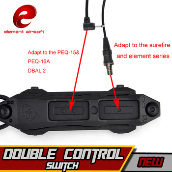 Element Airsoft Surefir M600C Weapon Light Green Laser IR PEQ 15 Switch Tactical Scout Flashlight Arms Gun Lamp For Hunting