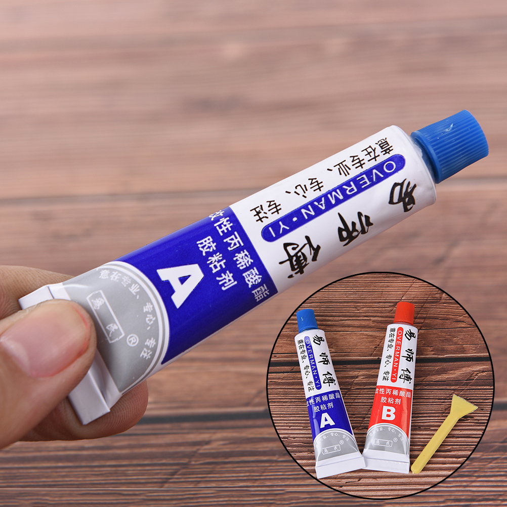 2pcs A B High Quality Modified Acrylic Glue Adhesive For