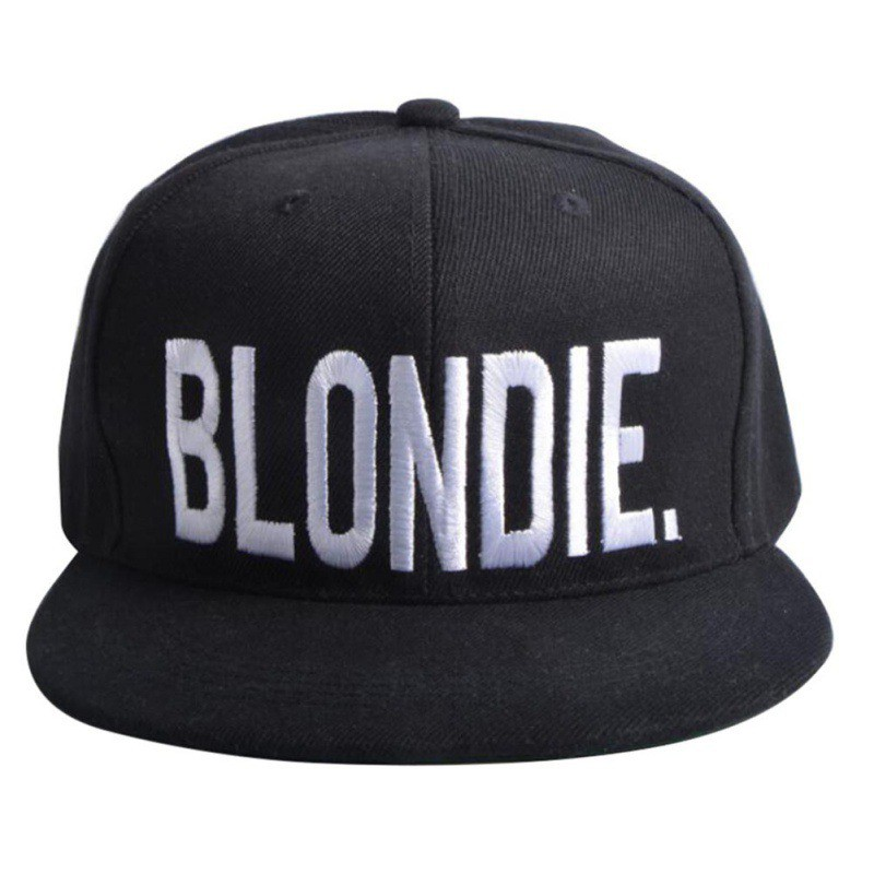 Outdoor Sports Adjustable Tennis Caps BLONDIE BROWNIE Embroidery Hot Sale Snapback Hats Cotton Couple Hip-Hop