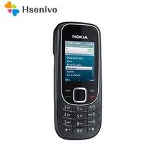 2322 Восстановленное Оригинальное 2322 2322c разблокирована Nokia 2322 мобильный телефон один год гарантии Бесплатная доставка