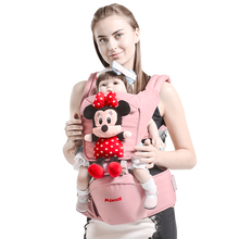 Disney Cartoon 0-36 Months Breathable Front Facing Baby Carrier Infant Comfortable Sling Backpack Pouch Wrap Baby Carriers