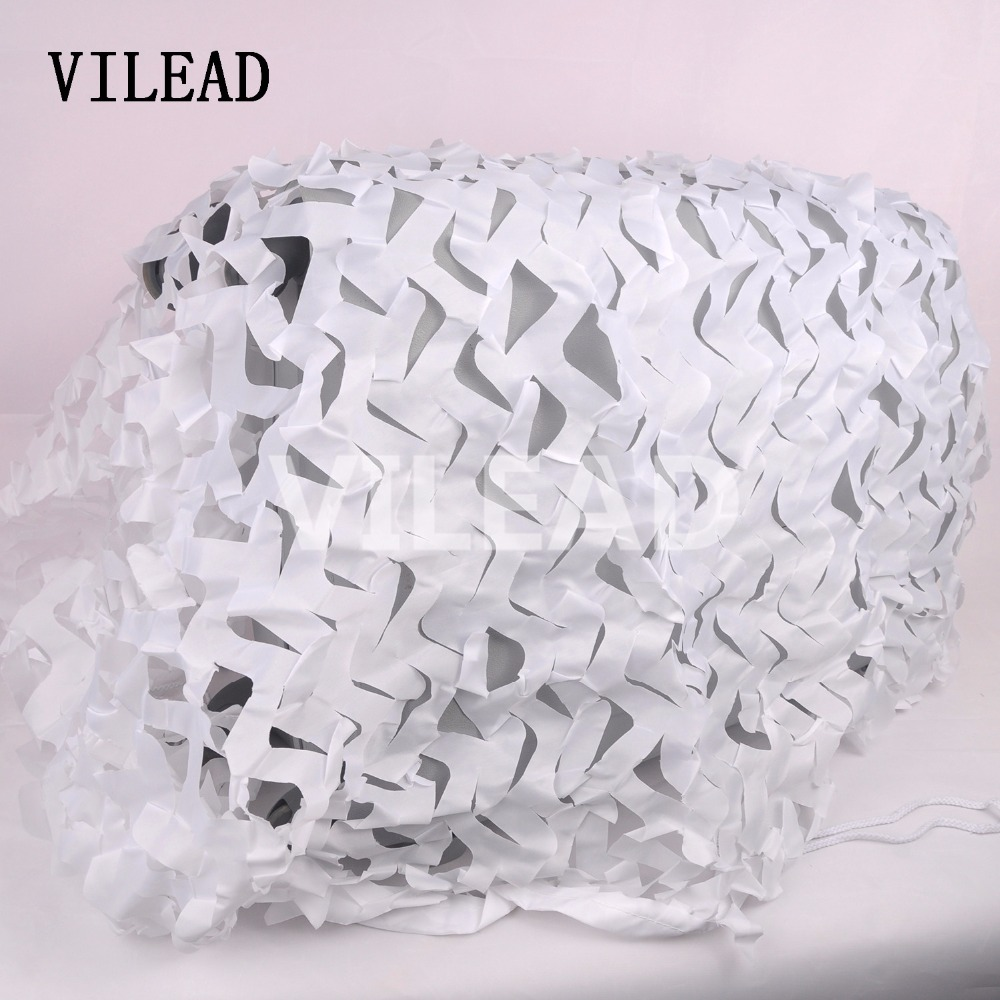 VILEAD 3.5*7M (11.5*23FT) Snow White Digital Camouflage Nets Military Army Camo Netting Sun Shelter for Hunting Camping Sunshade vilead 4m 4m sea blue military camo