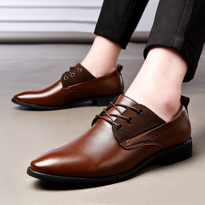 NORTHMARCH italien hommes chaussures de luxe marque hommes robe chaussures en cuir à lacets bout pointu élégant hommes chaussures de mariage Zapatos Hombre