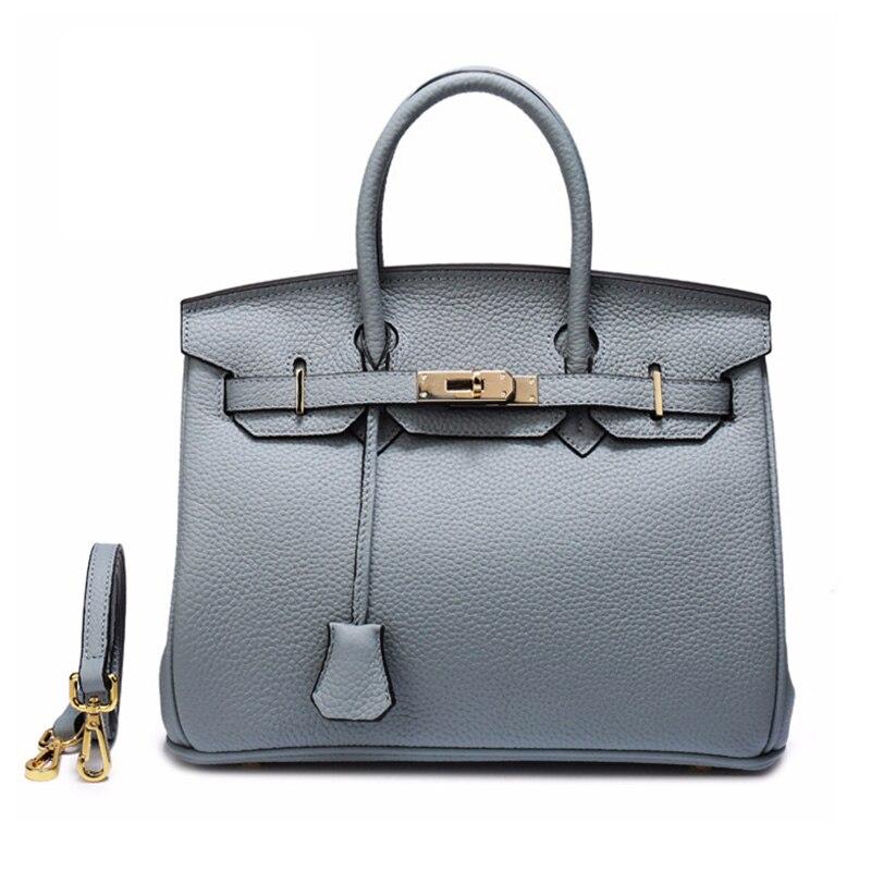 Yirenfang sacs de postier pour femmes Verrouiller Nouveau Bandoulière sacs à main pour femme Célèbre Marques Véritable sacs en cuirs Pour Femmes sacs à bandoulière