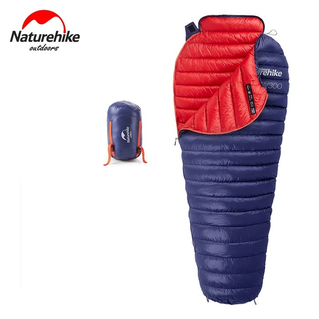 Naturehike CW300 Goose Down Sleeping Bag Ultralight Mummy 630grs 2