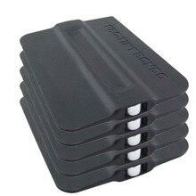 CNGZSY escurridor de plástico con imán Bondo, película magnética, rascador, salida de fábrica, envoltura de vinilo para coche, herramienta de instalación 5A19, 5 uds.