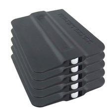 CNGZSY – raclette magnétique Bondo en plastique, racloir à Film magnétique, sortie dusine, outil dinstallation dautocollants, 5 pièces, 5A19