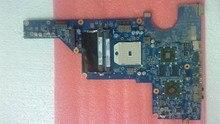 Бесплатная доставка! 100% тестирование 649950-001 доска для HP pavilion G4 G6 ноутбука материнской платы с для AMD чипсет A60M DSC HD6470/1 Г