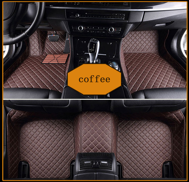 Custom fit car floor mats for Cadillac ATS CTS XTS SRX SLS Escalade 3D car-styling all weather carpet floor liner
