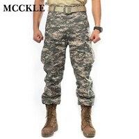 2015 SWAT Mens Camouflage Tactical Pants Multi Pockets Military Digital Camo Pants 7 Color Q0262