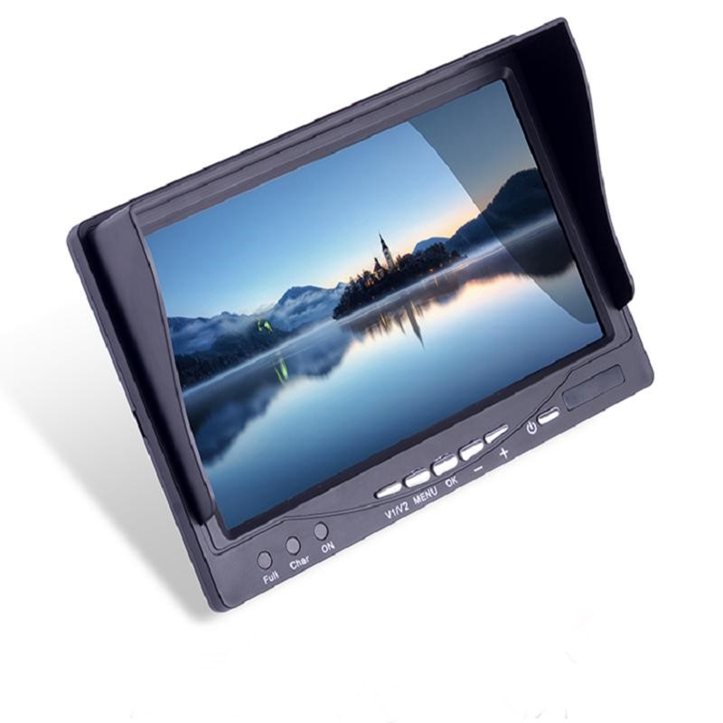 ФОТО New Arrival Specfly T-RS2000B 5.8G 7 Inch 32CH HD Diversity Receiver FPV Monitor Build-in Battery