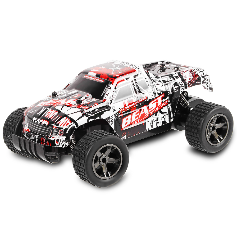 2.4GHz 1:20 High Speed Racing Car RC Car RTR 20km/H Shock Absorber Impact-Resistant PVC Shell