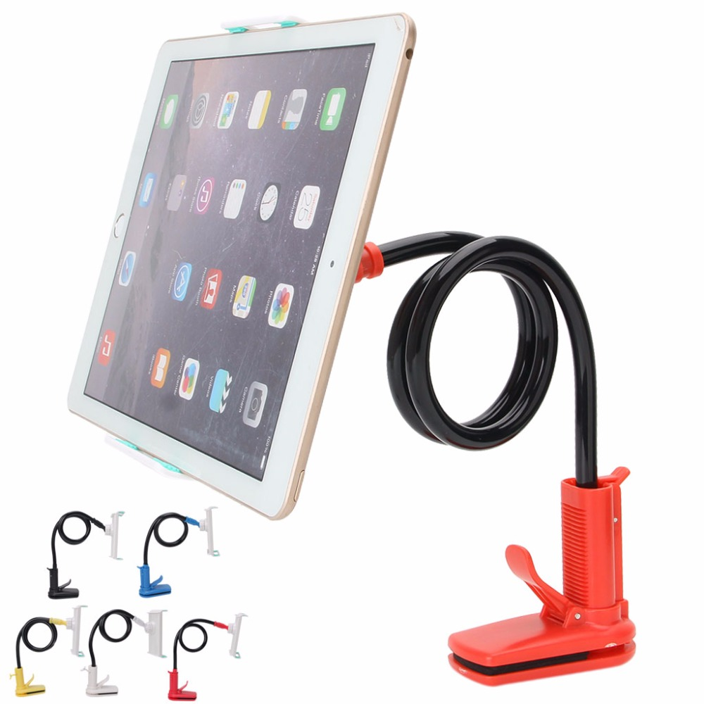 360 Degree Rotatable Flexible Lazy Bed Desk Stand Mount ...