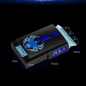 Vacuum USB Cooler LCD Temperat