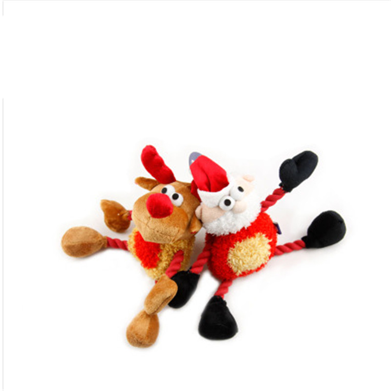 Puppy Dog Outdoor Toys Cute Funny Game Training Squeak Squeaky Guincho Labrador Animal Plush Sound Pets Toys Dog Treat EEMY07