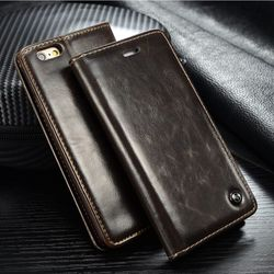 Original Brand Leather Case sFor Fundas Apple iphone SE 5 5G 5S Case iphone 6 6S case 6 6s Plus coque Wallet Flip Phone Cover 1