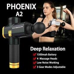 حار الأزياء فينيكس A2 جهاز تدليك قرع مدلك العضلات بالاهتزاز الاسترخاء آلة Maquiagem انخفاض الشحن