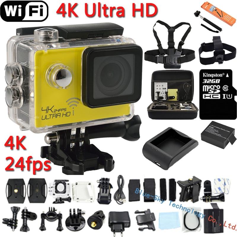 ФОТО Action Camera Ultra HD 4K 24fps WiFi 2.0