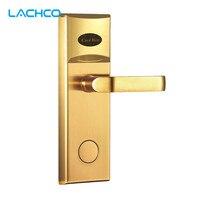 L S SWP16 091SG 2 Smart Digital Door Lock Biometric Smart Fingerprint Lock Mechanical Key Door