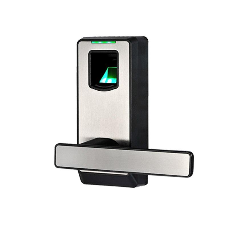 Fingerprint Door Lock Biometric Electronic Lock with DeadBolt Keyless Smart Entry For Home Office Room L&S L16082BS