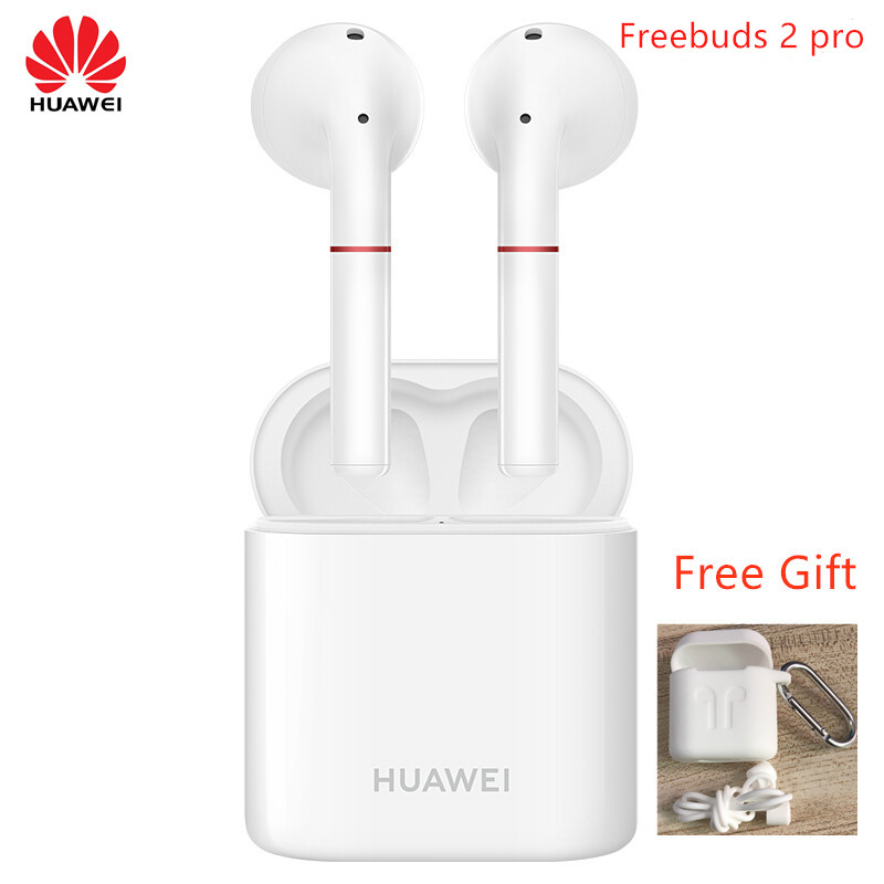 Image 2 - Original HUAWEI FreeBuds 2 Pro TWS Bluetooth 5.0 Wireless Earphone with Mic Music Touch Waterproof Headset with free gift-in Bluetooth Earphones & Headphones from Consumer Electronics