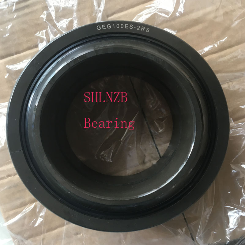 SHLNZB Bearing 1Pcs GEG100ES  GEG100ES-2RS 100*160*85mm Spherical plain radial Bearing  SHLNZB Bearing 1Pcs GEG100ES  GEG100ES-2RS 100*160*85mm Spherical plain radial Bearing