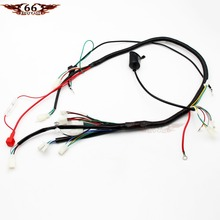 gy6 wireloom wiring harness assembly for scooter 125cc 150cc 200cc 250cc  chinese elecric start kandi atv