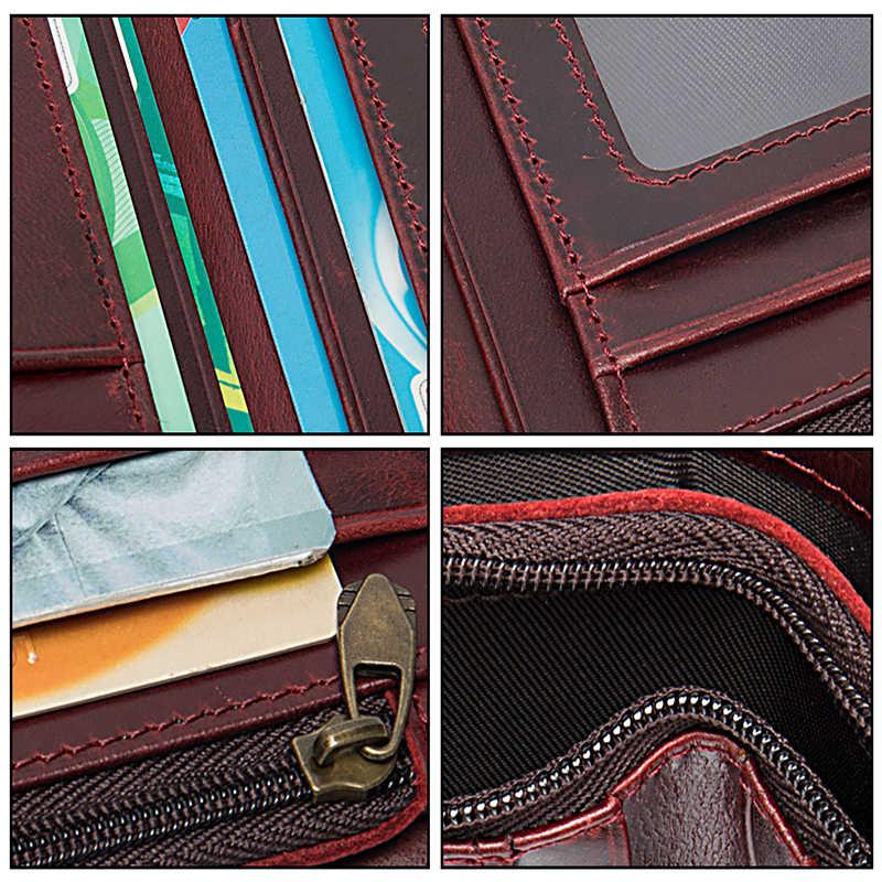 WESTAL femmes portefeuille en cuir véritable sac à main pour femmes portefeuille femme enlever porte-carte dames sac à main pour fille designe 8563