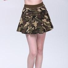 Новинка, уличная Военная Женская тактическая юбка, камуфляж, дышащая, Спортивная, короткая, для походов, кемпинга, танцев, бега, повседневная юбка