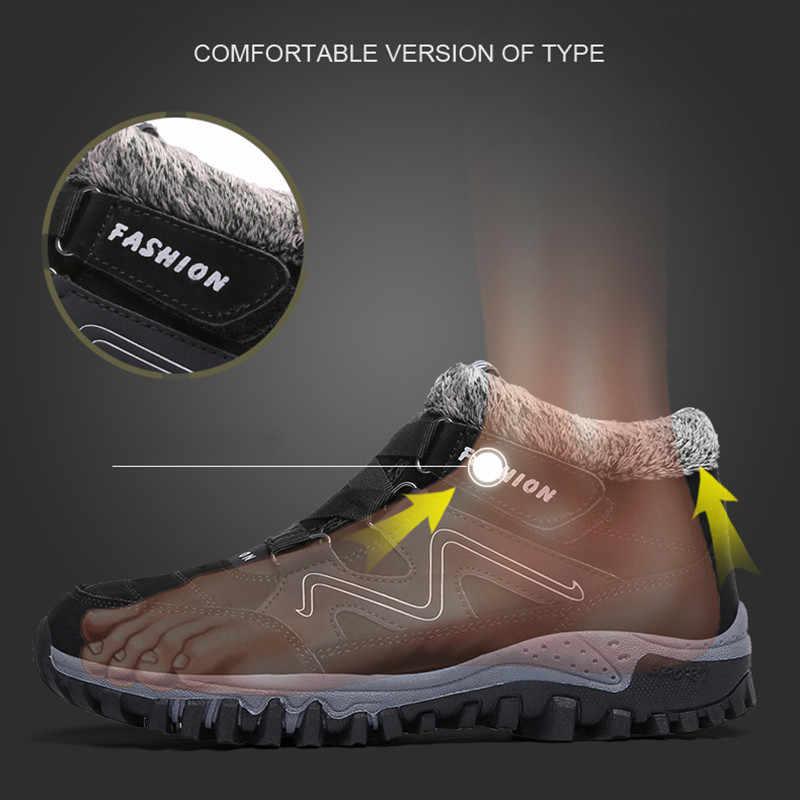 Bộ Sạc Pinsen 2020 Thời Trang Mùa Đông Nữ Giày Chất Lượng Cao Chống Trơn Trượt Ủng Giữ Ấm Lông Thú Sang Trọng Chống Nước Mắt Cá Chân Giày dành Cho Nữ
