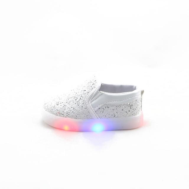 Niños shoes niñas niños niños zapatillas de deporte luces modas ...