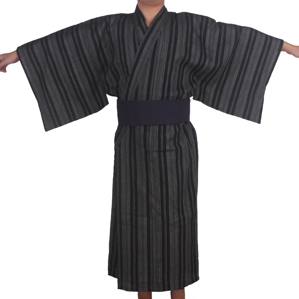 Robe De Chambre Japonaise Autumn Traditional Japanese Kimono Pajamas Costume With