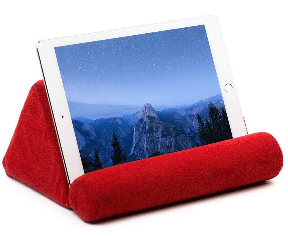 IPad Tablet Stand Pillow Holder Universal Phone And Tablet Stands And Holders Can Be Used On Bed Floor Desk Lap Sofa Couch Stand