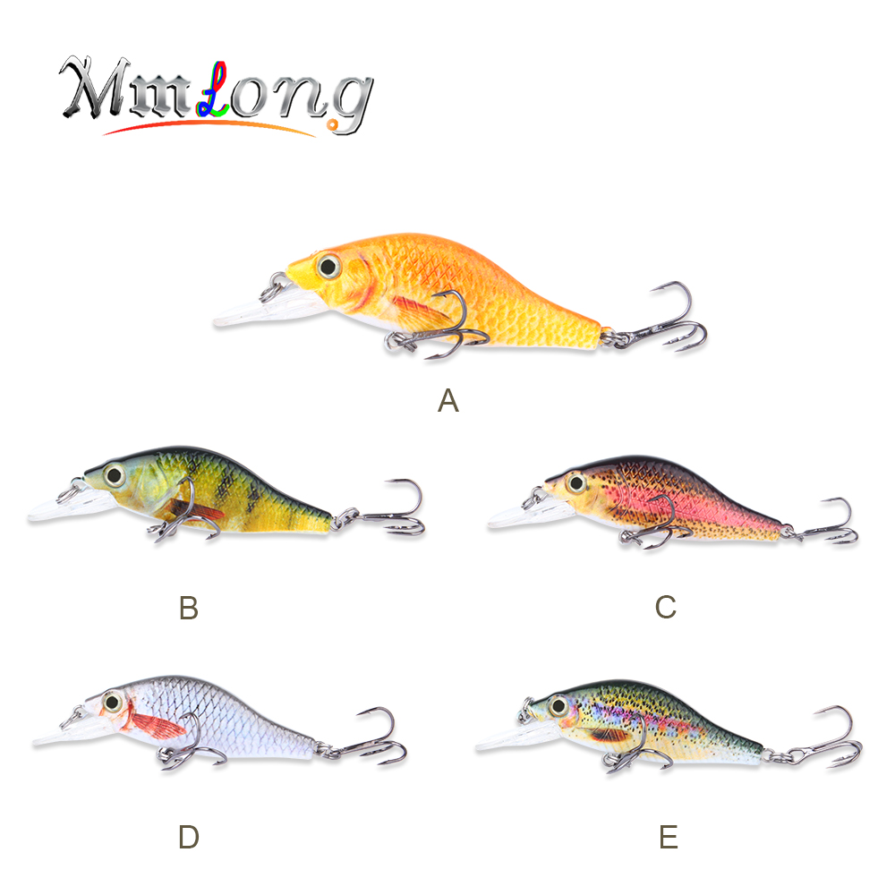 Mmlong 4.3Artificial Fishing Bait Wobbler MH11C 5 Color Lifelike Big Hard Fish Lure Tackle 21.9g Bionic Crankbait Fishing Lures
