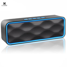 цена на 2019 Wireless Bluetooth Speaker Outdoor Portable Stereo Speaker With Hd Audio And Enhanced Bass, Built-in Dual Driver Speaker