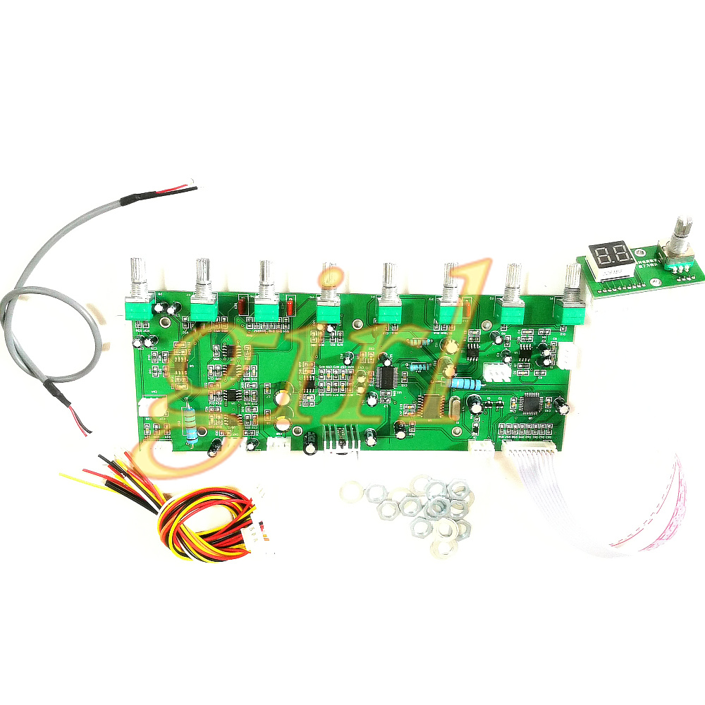 100 Effects Dsp Digital Reverberation Board Cara Ok Speaker Microphone Circuit Front Dual Supply In Switch Caps From Home Improvement On