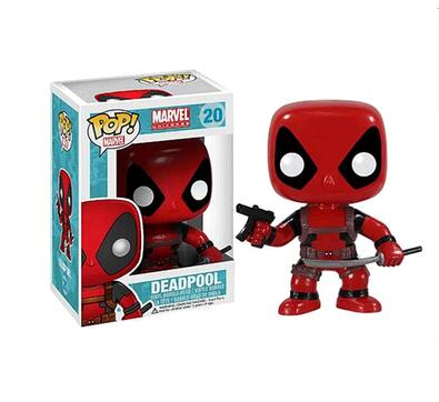 2017 Funko POP Marvel pvc  The Avengers Super Hero deadpool PVC Action Figures  Model  Collectibles kids toy  retailmovie  marvel deadpool funko pop super hero pvc ow batman action figure toy doll