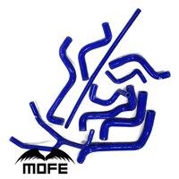 МФЭ 10 шт. оригинальный логотип Радиатор Хладагент силиконовый шланг для воды для V W Гольф MK3 Golf 3 2,0 & Jetta 1,8 /2,0 92 98 черный