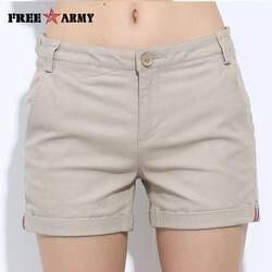 FreeArmy Брендовые женские шорты летние два дизайна Женские повседневные хлопковые шорты Женские однотонные джинсовые шорты с вышивкой